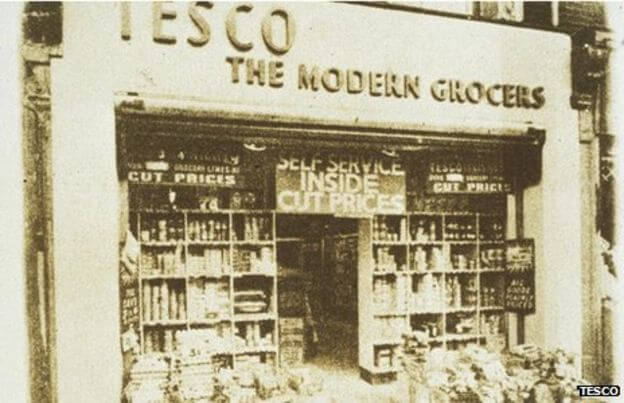 First Tesco store