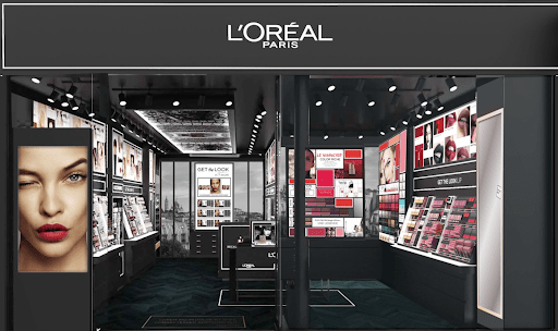 L'Oreal customer experience example