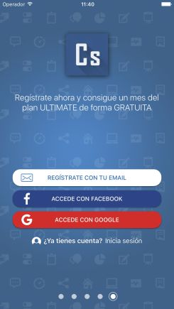 Inciar sesion en contasimple app