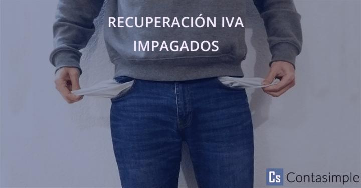 Recuperación IVA impagados