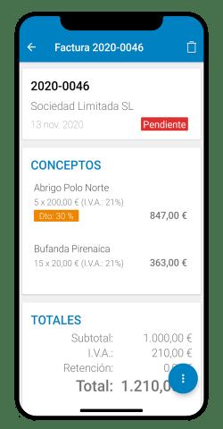 App de cobros y pagos