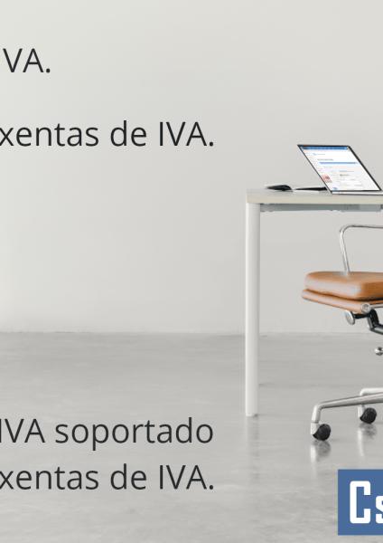 Modelo de factura exenta de IVA