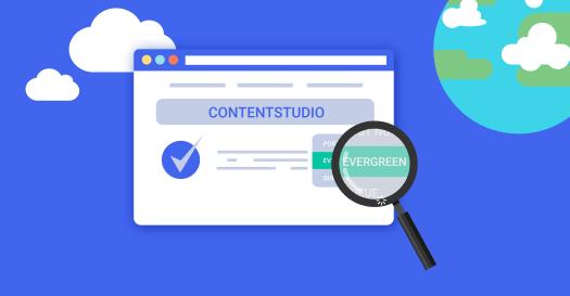 ContentStudio Evergreen Feature