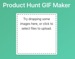 Gif icon maker for Product Hunt