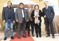 Da sinistra Stortini, Bambagiotti, Demicheli, Cecchini e Tassinari