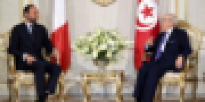 Tunisie Visite d'Édouard Philippe en Tunisie
