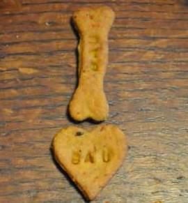 Bauscotti: biscotti per cani versione n°2