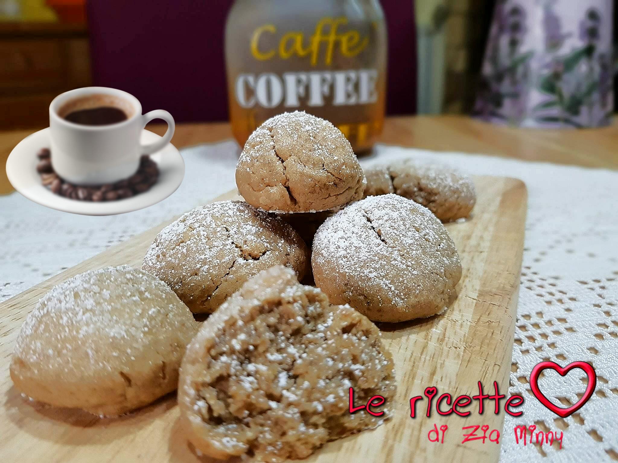 BISCOTTI MORBIDI AL CAFFE'
