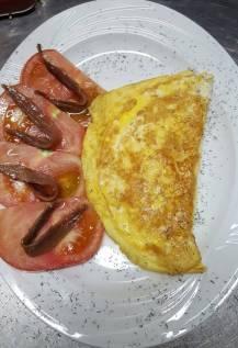 Tortilla francesa de Paqui
