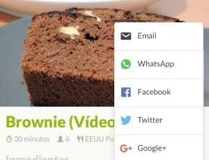 Comparte tus recetas por Whatsapp