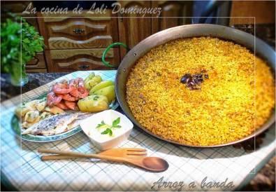 Receta de arroz a banda tradicional de Loli Dominguez