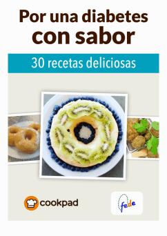 revista con 30 recetas aptas para diabéticos