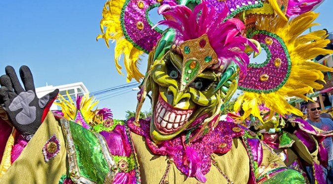 February Ushers in Dominican Carnival Season