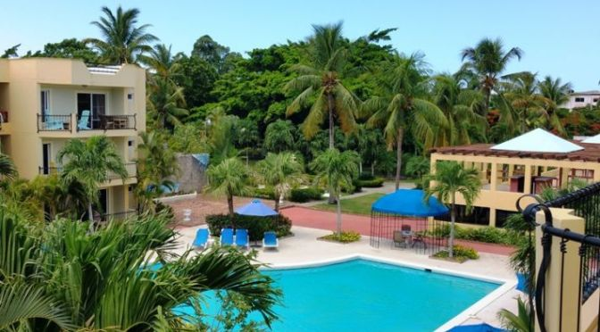 1 BR 1 & 1/2 bath Most Private Apartment in The Garden Condos, Sosua Down Town
