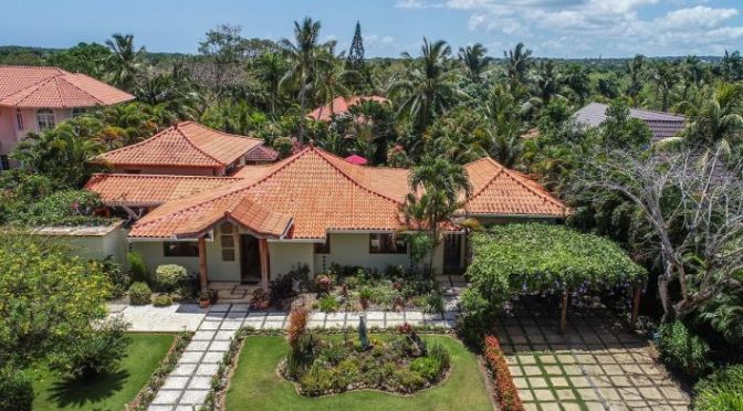 Beautiful home with a Balinese feel …..