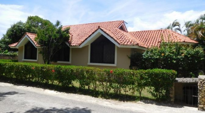 Lovely house in Sosua with possibility ……