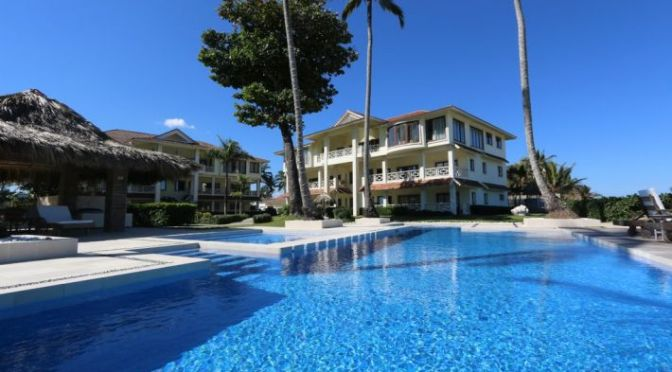 Beach front condo in Cabarete