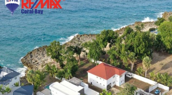 Urgent Sale! Incredible Opportunity! Sosua Oceanfront Villa $US470,000