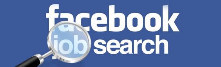 facebook job search feature