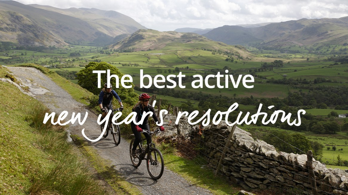 Active New Year resolutions