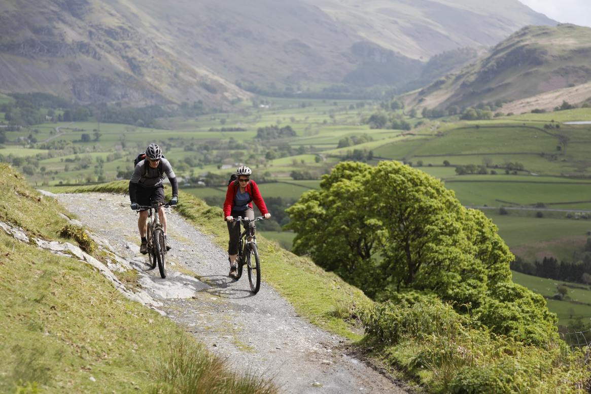 cycling lake district