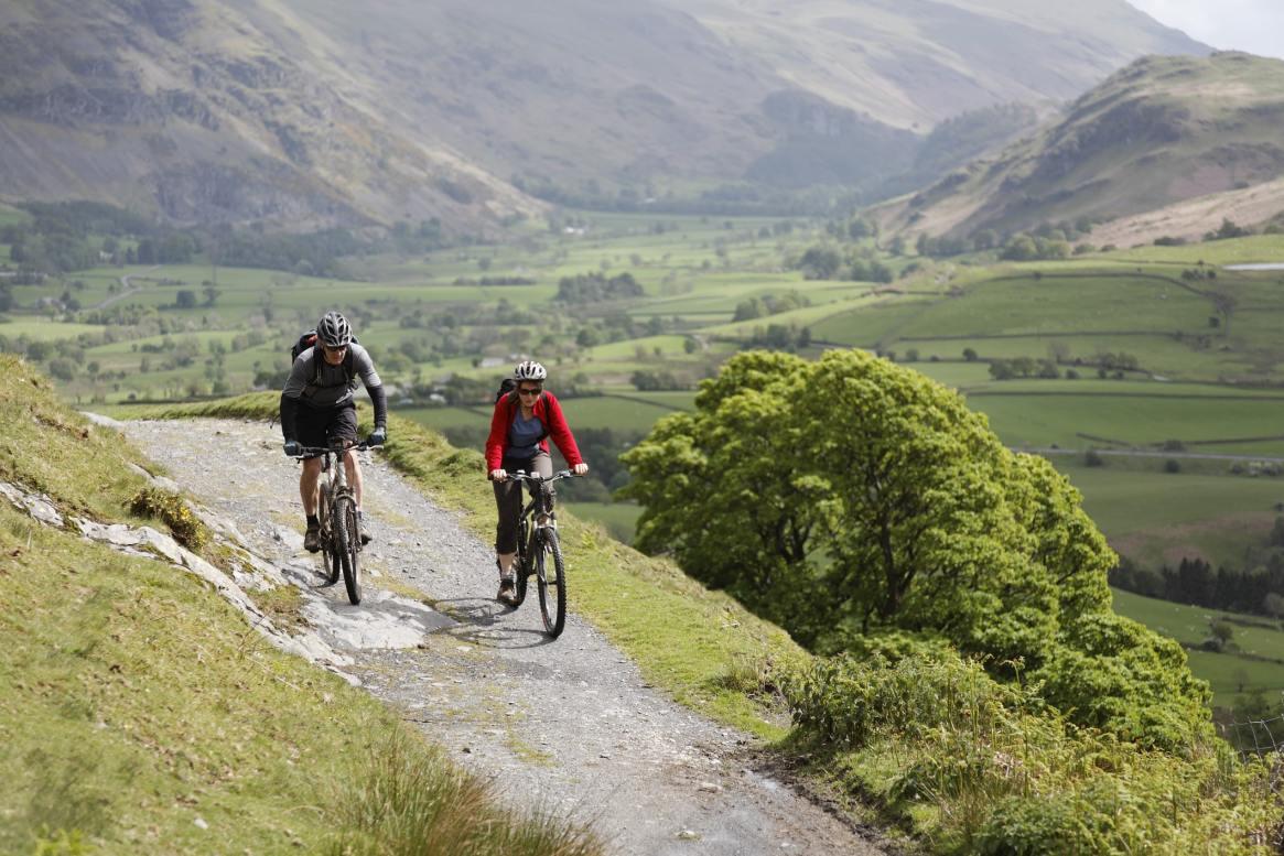 cycling lake district