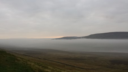 mist from pen y ghent