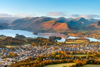 The Lake District: majestic mountains, deep valleys and tranquil lakes and tarns await in the Lakes. One of England's most popular holiday destinations, needs little introduction.