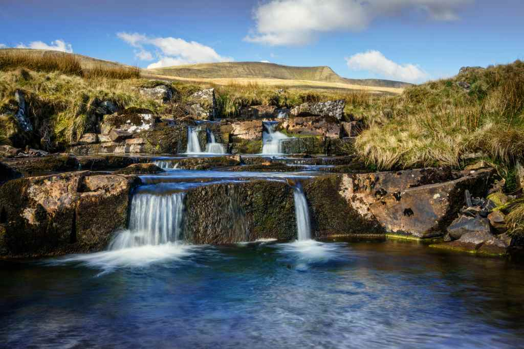 Fairy pools in Brecon Beacons
