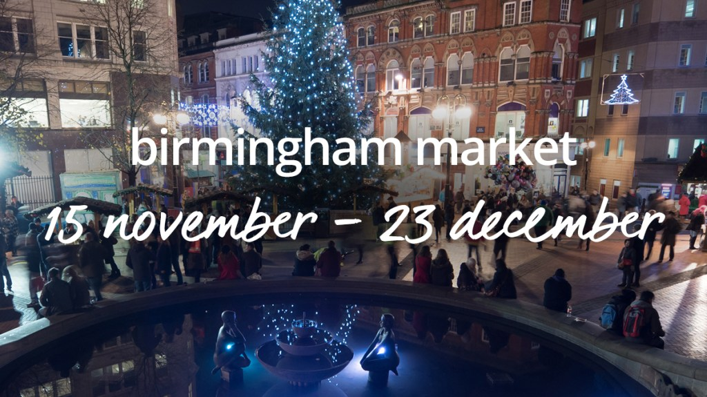 Book a Christmas market break in Birmingham with cottages.com
