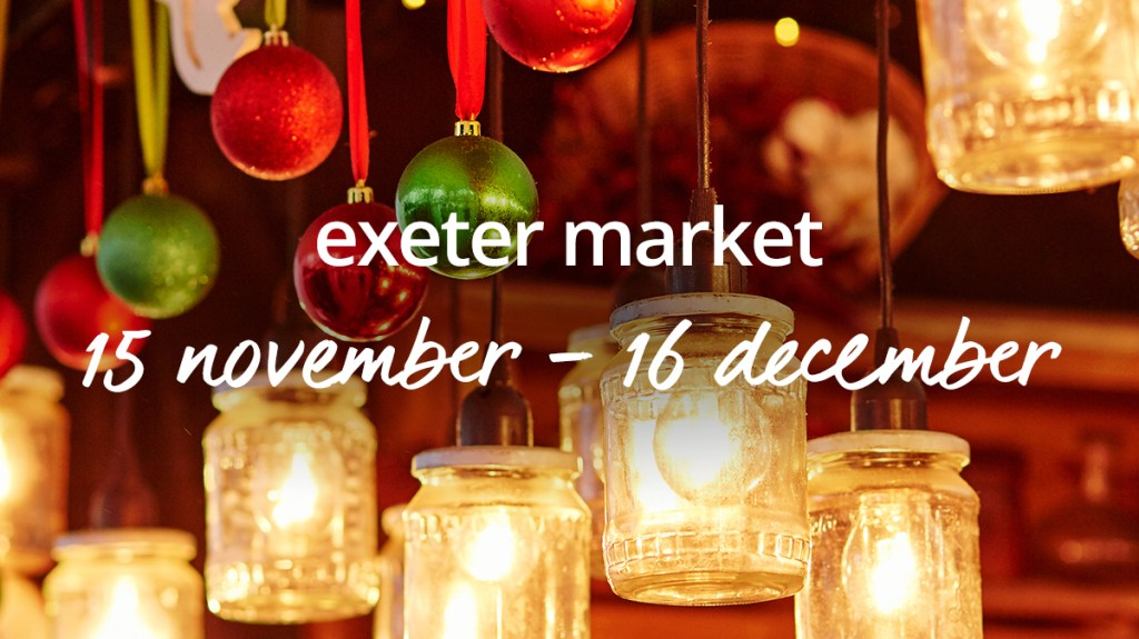 Book a Christmas market break in Exeter with cottages.com