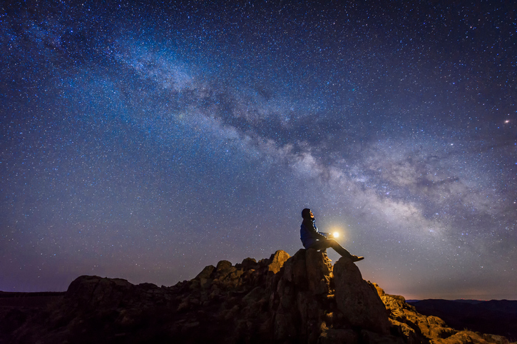 Stargazing microadventures