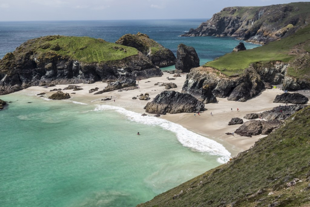 Kynance Beach Cornwall
