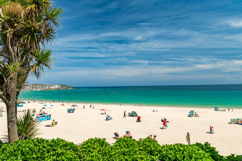 Porthminster Beach in Cornwall