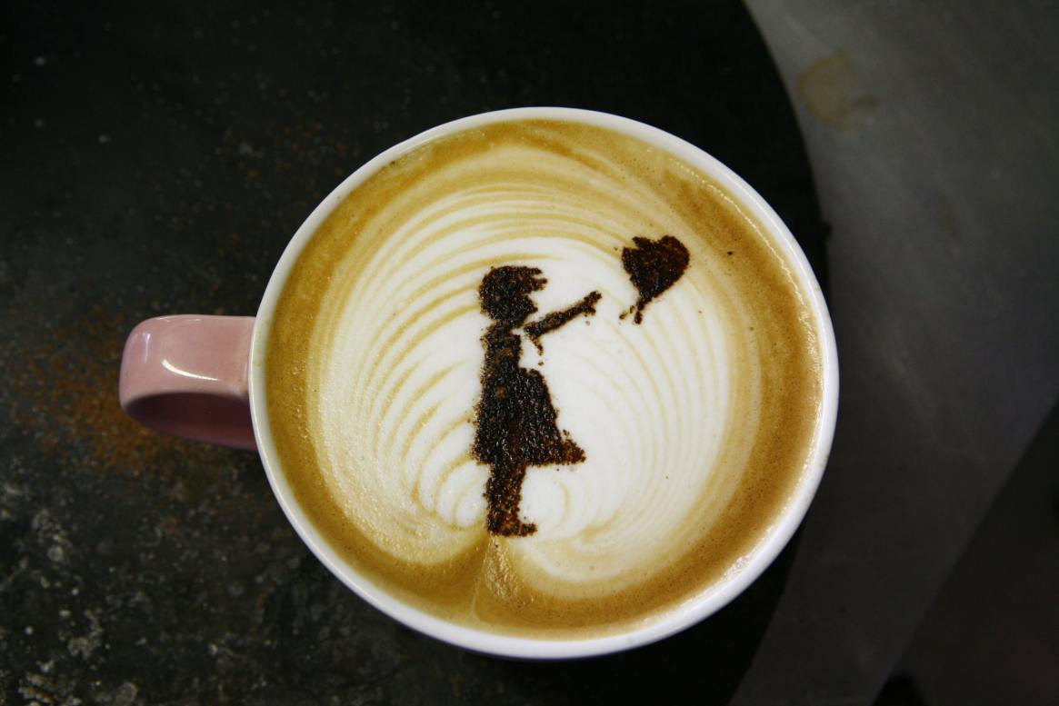 Banksy coffee
