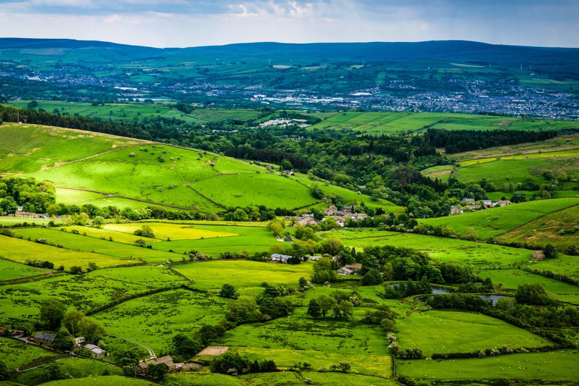 view of Bowland