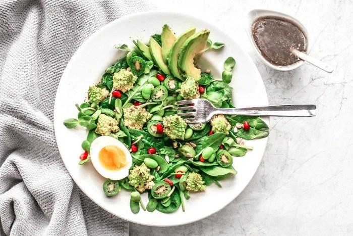 Roasted Romanesco Salad With Molasses Vinaigrette
