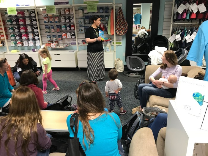 Music and movement at Cotton Babies