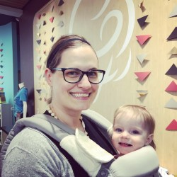 Mom and Baby in an Ergo