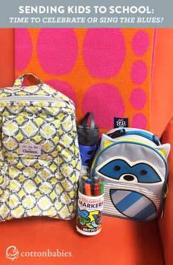 Sending the kids back to school can makes parents feel all the feels. Are you celebrating or singing the blues this school year?