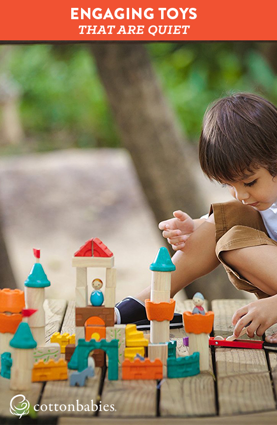 Engaging toys for toddlers that are quiet, too can be tough to find. Here are a few of our fave toys for restaurants, church and more.