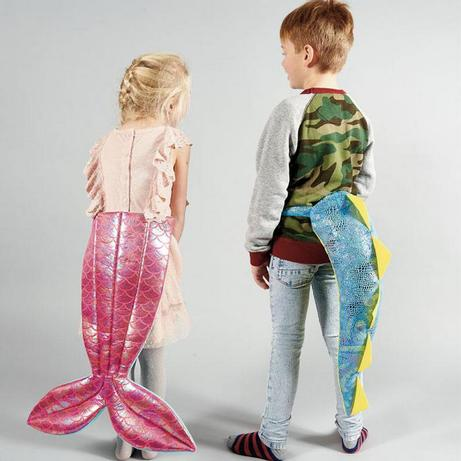 Shake that dino tail! And that mermaid tail! Get all the details on this fun, imaginative toy. #cottonbabies