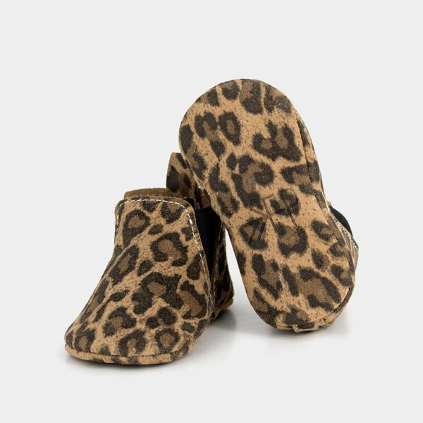 Freshly Picked Leopard Baby Shoes