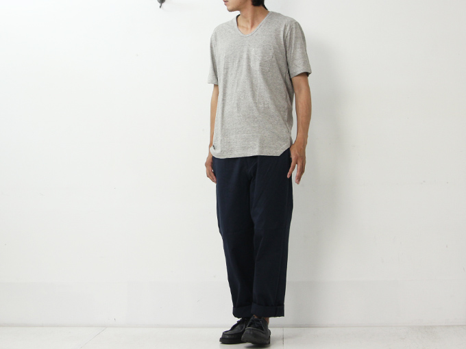 YAECA (ヤエカ) CHINO CLOTH PANTS TACK TAPERD