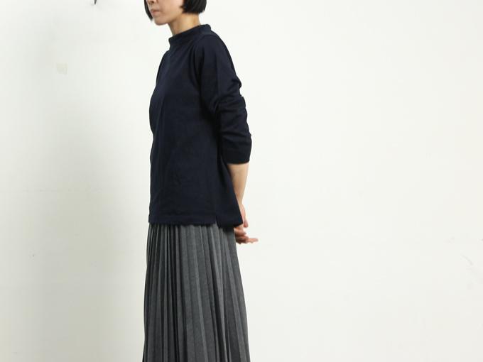 nisica (ニシカ) ガンジーネックカットソー