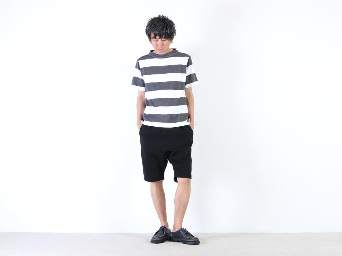 nisica (ニシカ) 半袖ガンジーネックカットソー