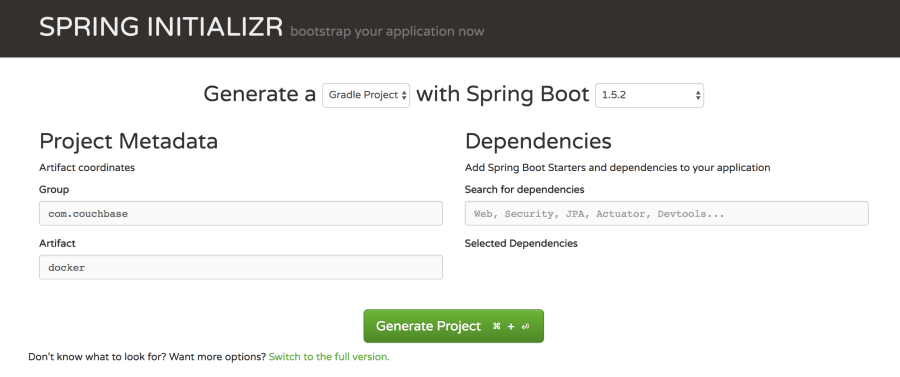 Use Docker to Deploy a Containerized Java with Couchbase Web