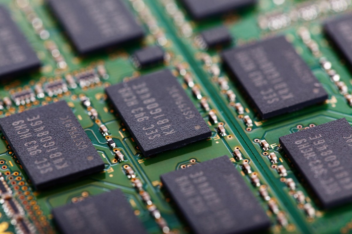 Cache memory chips