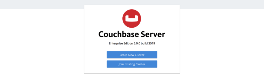 Couchbase Server Create or Join