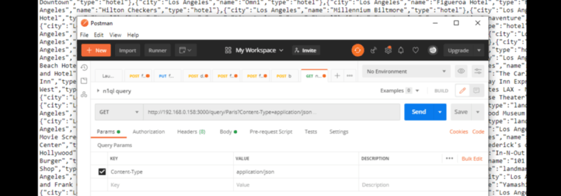 How to Query JSON Data Using N1QL for Node.js and Couchbase